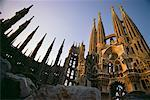 Gaudi's Cathedral Barcelona, Spain    Stock Photo - Premium Rights-Managed, Artist: Peter Christopher, Code: 700-00008046