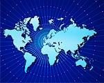 World Map    Stock Photo - Premium Rights-Managed, Artist: Nora Good, Code: 700-00010025