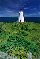 Lighthouse Grand Manan Island New Brunswick, Canada    Stock Photo - Premium Rights-Managednull, Code: 700-00010936