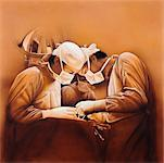 Illustration of Surgery    Stock Photo - Premium Rights-Managed, Artist: Karen Visser, Code: 700-00011121