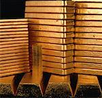 Stacked Gold Bars    Stock Photo - Premium Rights-Managed, Artist: Greg Stott, Code: 700-00011966