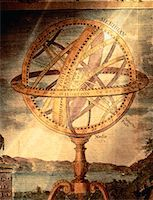Illustratioin of Armillary Sphere Astronomical Instrument    Stock Photo - Premium Rights-Managednull, Code: 700-00012223