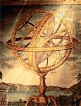 Illustratioin of Armillary Sphere Astronomical Instrument    Stock Photo - Premium Rights-Managed, Artist: Ken Davies, Code: 700-00012223
