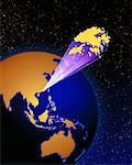 Globe Hong Kong    Stock Photo - Premium Rights-Managed, Artist: Imtek Imagineering, Code: 700-00014191
