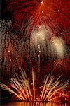 Fireworks Vancouver, British Columbia Canada    Stock Photo - Premium Rights-Managed, Artist: J. A. Kraulis, Code: 700-00014747