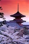 Kiyomizu Temple and Pagoda Kyoto, Japan