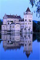 Anif Castle Austria    Stock Photo - Premium Rights-Managednull, Code: 700-00016431