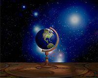 Globe on Stand North America    Stock Photo - Premium Rights-Managednull, Code: 700-00018276