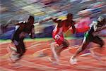 Track and Field Victoria, British Columbia Canada    Stock Photo - Premium Rights-Managed, Artist: Alec Pytlowany, Code: 700-00018348