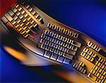 Ergonomic Computer Keyboard    Stock Photo - Premium Rights-Managed, Artist: Boden/Ledingham, Code: 700-00020163