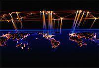 World Map    Stock Photo - Premium Rights-Managednull, Code: 700-00021433