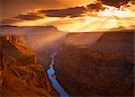 Sunrise over Toroweap Overlook Grand Canyon, Arizona, USA