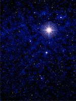 sky stars - Bright Star in Starry Sky    Stock Photo - Premium Rights-Managednull, Code: 700-00023151