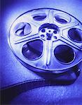 Close-Up of Film Reel    Stock Photo - Premium Rights-Managed, Artist: David Muir, Code: 700-00023946