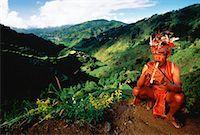 philippine terrace farming - Ilfugas Tribesman, Banaue Rice Terraces, Banaue, Ulfugao Philippines    Stock Photo - Premium Rights-Managednull, Code: 700-00025222