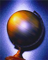Spinning Globe    Stock Photo - Premium Royalty-Freenull, Code: 600-00025785