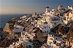 Overview of City Oia, Santorini, Greece    Stock Photo - Premium Rights-Managed, Artist: Bryan Reinhart, Code: 700-00026374