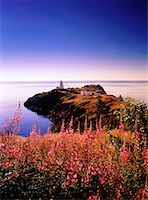 Swallowtail Lighthouse at Sunrise Grand Manan Island, New Brunswick Canada    Stock Photo - Premium Rights-Managednull, Code: 700-00027446