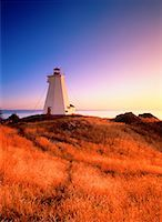 Swallowtail Lighthouse at Sunrise Grand Manan Island, New Brunswick Canada    Stock Photo - Premium Rights-Managednull, Code: 700-00027448