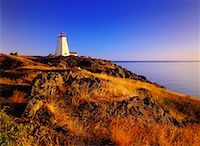 Swallowtail Lighthouse at Sunrise Grand Manan Island, New Brunswick Canada    Stock Photo - Premium Rights-Managednull, Code: 700-00027449