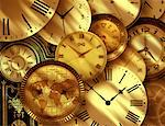 Clocks    Stock Photo - Premium Rights-Managed, Artist: Bill Frymire, Code: 700-00028121