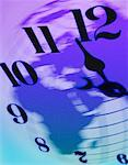 Clock on Globe Europe and Africa    Stock Photo - Premium Rights-Managed, Artist: Boden/Ledingham, Code: 700-00028236