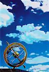 Armillary Sphere and Sky    Stock Photo - Premium Rights-Managed, Artist: Douglas E. Walker, Code: 700-00028719