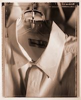 Close-Up of Shirt on Hanger    Stock Photo - Premium Rights-Managednull, Code: 700-00029228