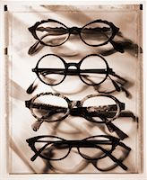 Row of Eyeglasses    Stock Photo - Premium Rights-Managednull, Code: 700-00029229