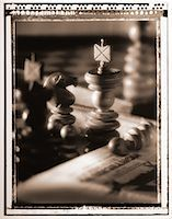 Close-Up of Chess Pieces    Stock Photo - Premium Rights-Managednull, Code: 700-00030096