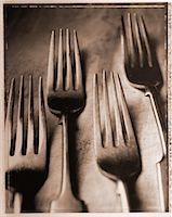 Close-Up of Forks    Stock Photo - Premium Rights-Managednull, Code: 700-00031040