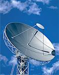 Radio Telescope and Sky    Stock Photo - Premium Rights-Managed, Artist: Guy Grenier, Code: 700-00031871
