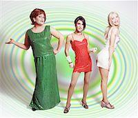 Portrait of Transvestites    Stock Photo - Premium Rights-Managednull, Code: 700-00034359