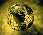 Wire Globe North America    Stock Photo - Premium Rights-Managed, Artist: David Muir, Code: 700-00035534