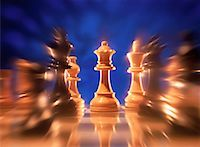 Blurred View of Chess Pieces    Stock Photo - Premium Rights-Managednull, Code: 700-00036238
