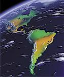 Globe North and South America    Stock Photo - Premium Rights-Managed, Artist: Rick Fischer, Code: 700-00036266