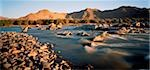 Orange River on South African And Richtersveld Border, Namibia    Stock Photo - Premium Royalty-Free, Artist: Horst Klemm, Code: 600-00036458