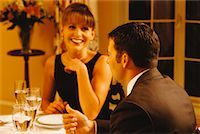rich lifestyle - Man and Woman at Dinner Party    Stock Photo - Premium Rights-Managednull, Code: 700-00037268