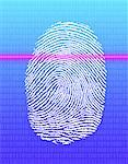Finger Print and Binary Code
