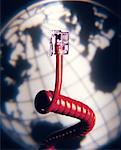 Telephone Jack and Globe    Stock Photo - Premium Rights-Managed, Artist: David Muir, Code: 700-00040895