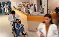 Hospital Reception Area    Stock Photo - Premium Rights-Managednull, Code: 700-00041238