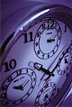 Clock Displaying Time Zones    Stock Photo - Premium Rights-Managed, Artist: Bryan Reinhart, Code: 700-00044827