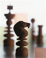 Close-Up of Chess Pieces    Stock Photo - Premium Rights-Managednull, Code: 700-00045245