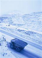 Copper Mine in Winter Butte, Montana, USA    Stock Photo - Premium Rights-Managednull, Code: 700-00045822