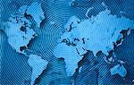 World Map and Radar