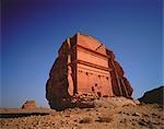 Nabatean Tomb Ruins at Medain Saleh, Saudi Arabia    Stock Photo - Premium Royalty-Free, Artist: Horst Klemm, Code: 600-00048811