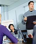 Business People in Meeting    Stock Photo - Premium Rights-Managed, Artist: Masterfile, Code: 700-00050844