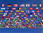 International Flags    Stock Photo - Premium Rights-Managed, Artist: Guy Grenier, Code: 700-00050892