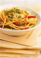 Bowl of Oriental Pasta Salad    Stock Photo - Premium Rights-Managednull, Code: 700-00052796