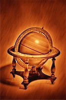 Spinning Globe on Stand    Stock Photo - Premium Rights-Managednull, Code: 700-00052875